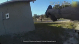 Video: Daytona Beach officers kill man who shot at them while fleeing scene of fatal shooting