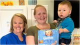 """Flagler Health Department's Rochelle Stone with Quit4Me """"graduate"""" Cody Strickland and her son Tristan."""