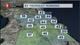 Central Florida Weather - Thursday morning forecast temps