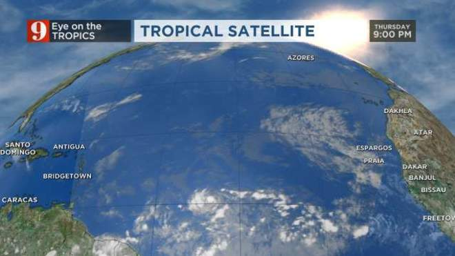Eastern Atlantic Satellite