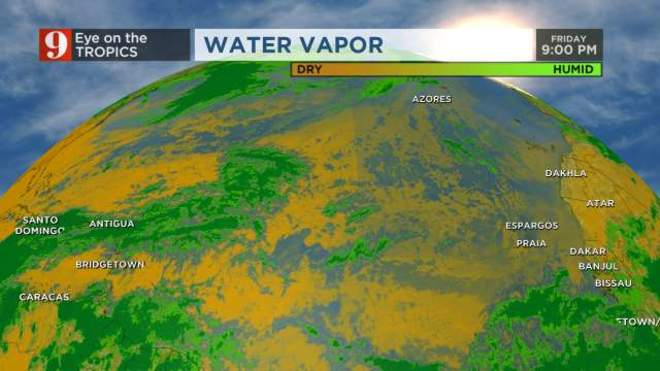 Atlantic Water Vapor