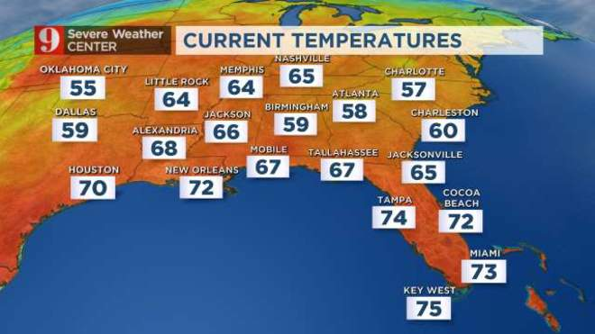 Little Rock Weather Map.National Weather Maps Wftv